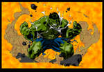 Hulk SMASH!!! (Hulk Colours)