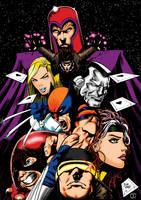 X-Men Colours by Little--Broling