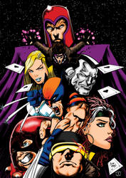 X-Men Colours by Little--Broling