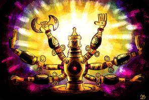 Ancient Automaton Koloktos by jesseuhhyeah