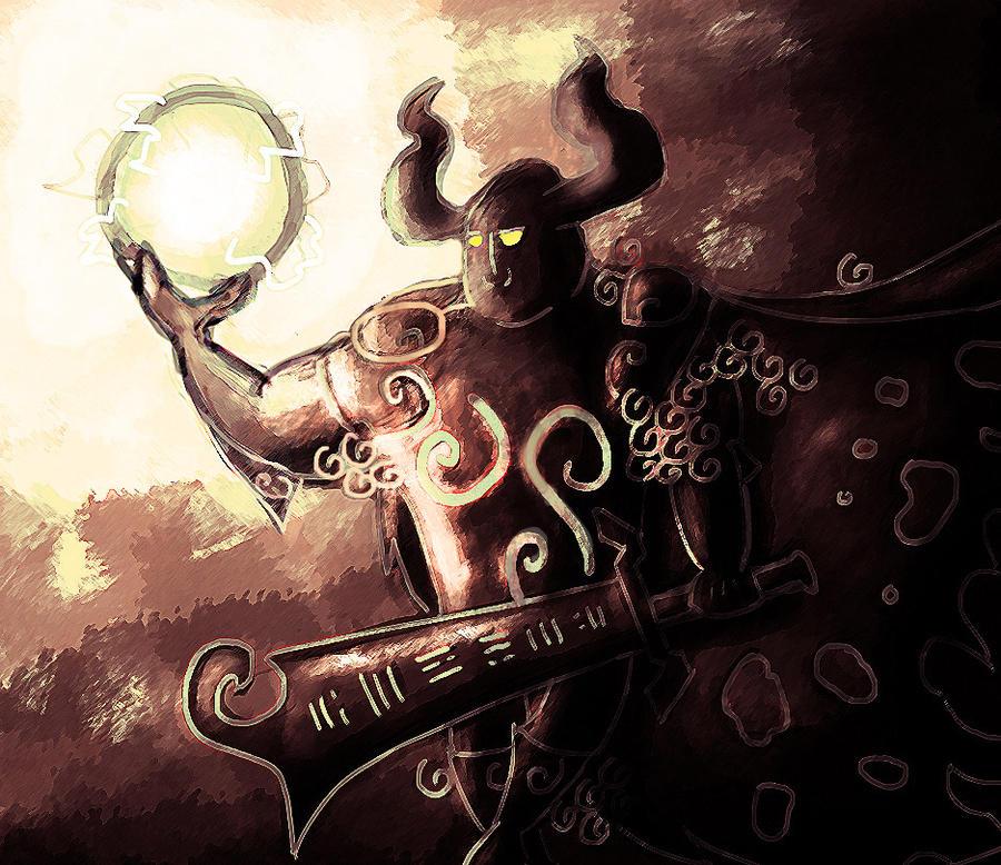 Phantom Ganon by jesseuhhyeah