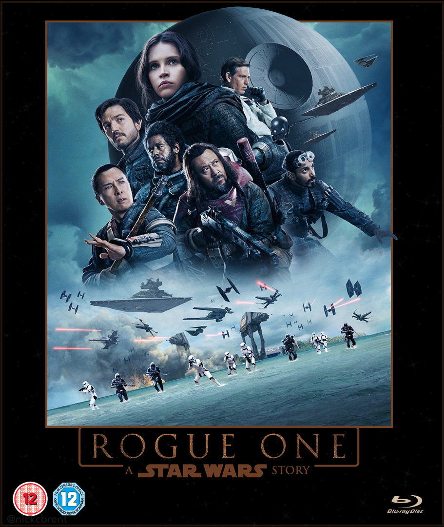 star wars rogue one blu ray