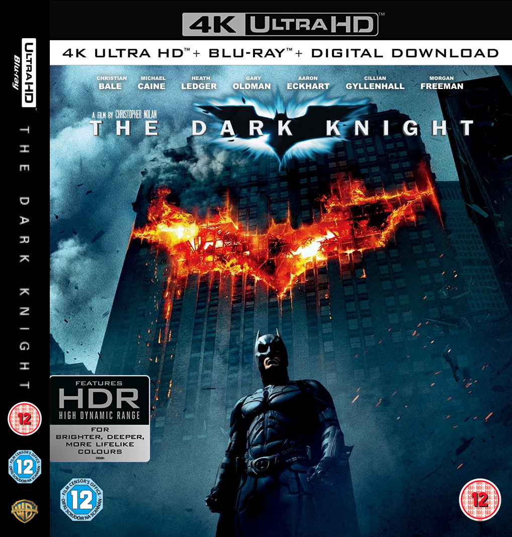 The Dark Knight 4k Blu Ray Mock Up By Lemonhead118 On Deviantart