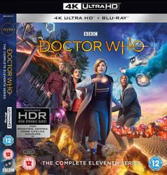 Doctor Who - Series 11 4K Blu-Ray Mock Up