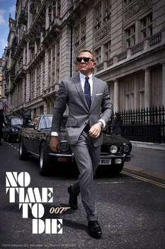 BOND 25: No Time to Die - Teaser Poster Fanmade