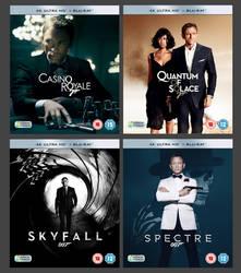 Daniel Craig - James Bond 4K Collection