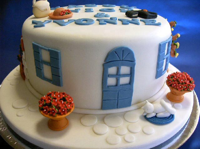 Greek house cake by Amandasmacarons