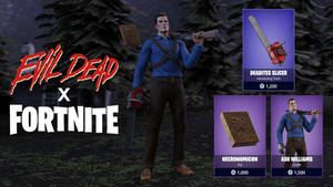 Evil Dead x FORTNITE - Skin Concept