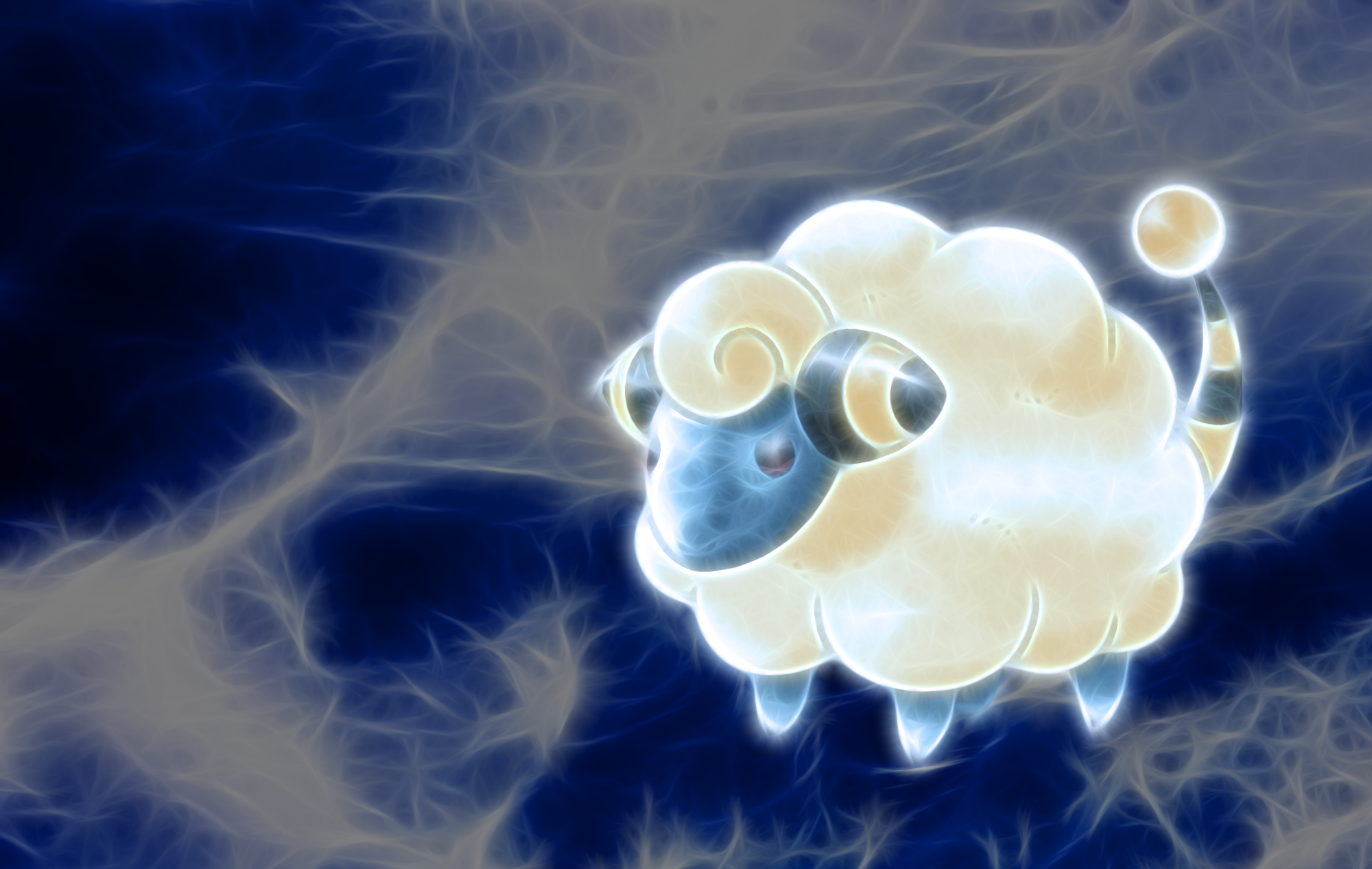 Mareep Wallpaper by PorkyMeansBusiness