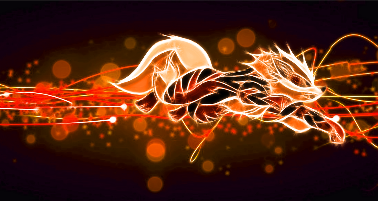 Topic de Flood : Parler de tout et de rien Arcanine_wallpaper_by_porkymeansbusiness-d5khm0d