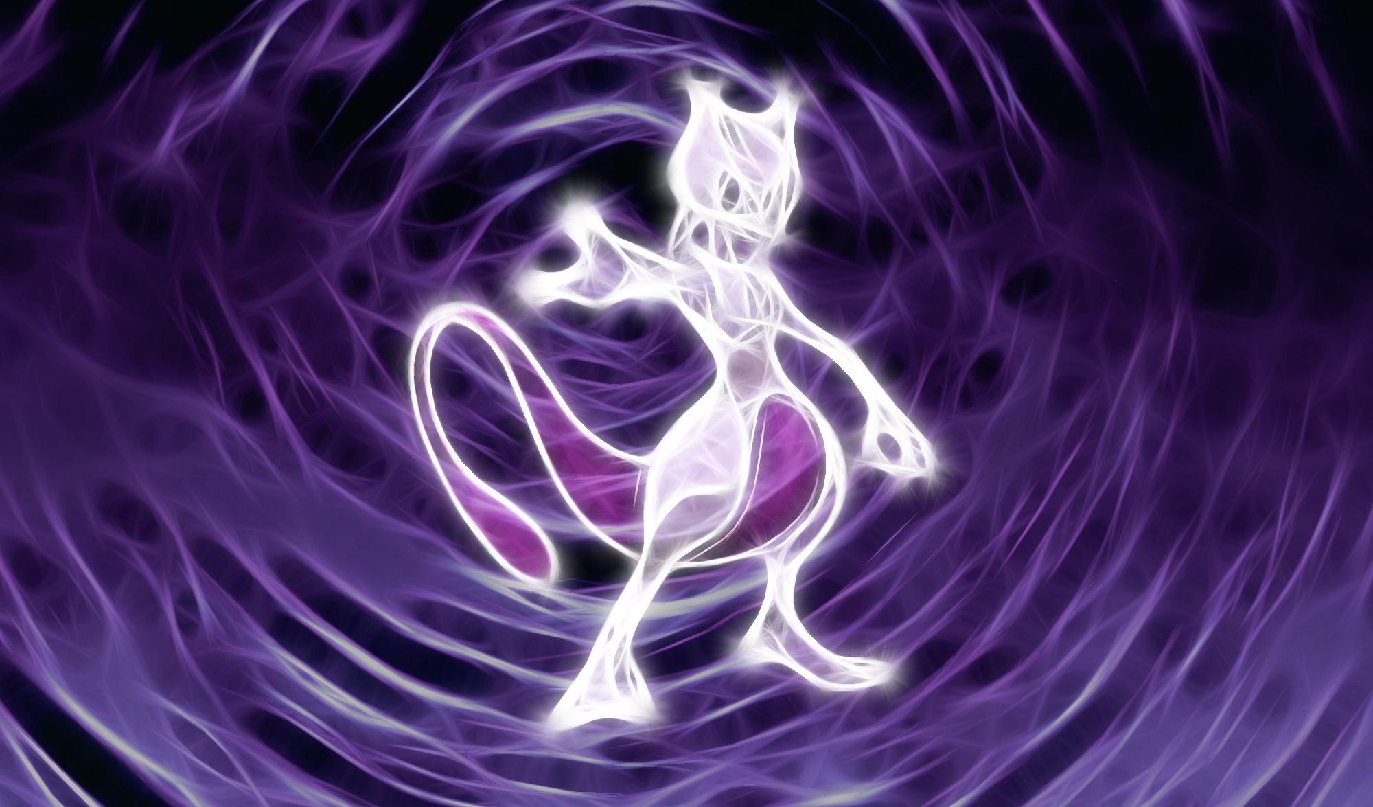 Mewtwo Wallpaper by PorkyMeansBusiness
