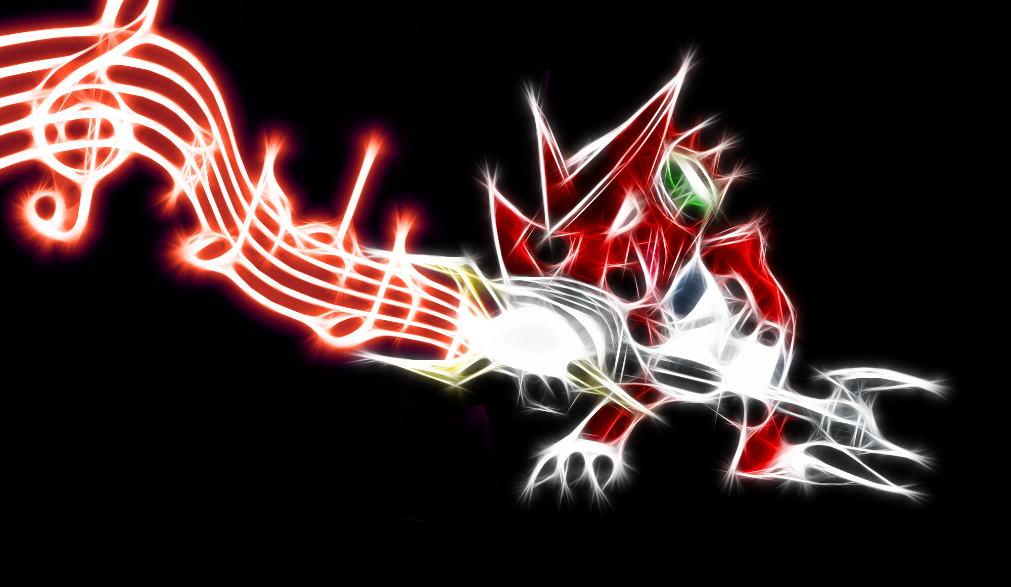 Shoutmon Wallpaper by PorkyMeansBusiness