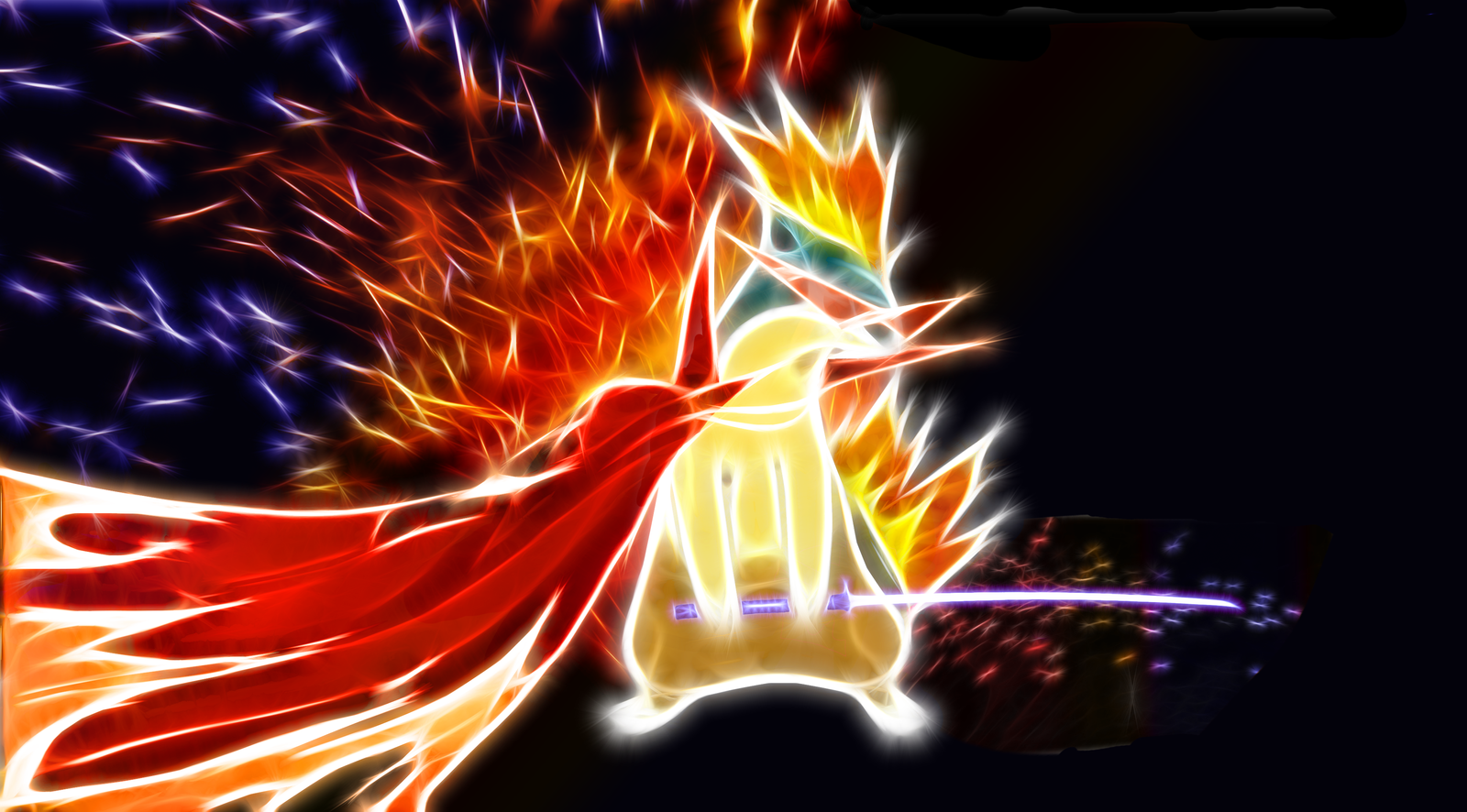 Kamina Quilava Wallpaper by PorkyMeansBusiness