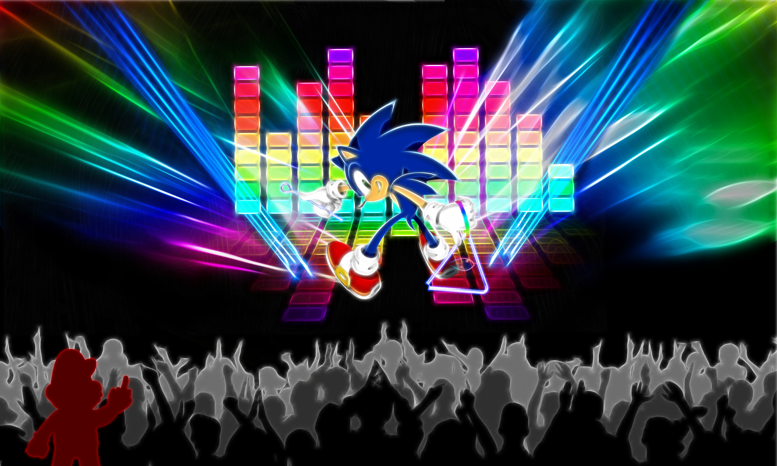 Triangle Player Sonic by PorkyMeansBusiness