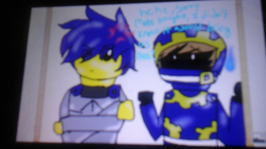 Mk and magy in ninjago- for my sissy :3 by RadioactiveRays