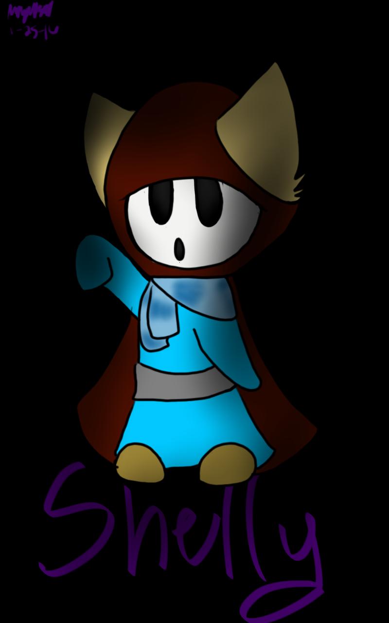 Shelly the shyguy by RadioactiveRays