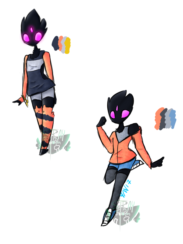 New outfits for nova by RadioactiveRays