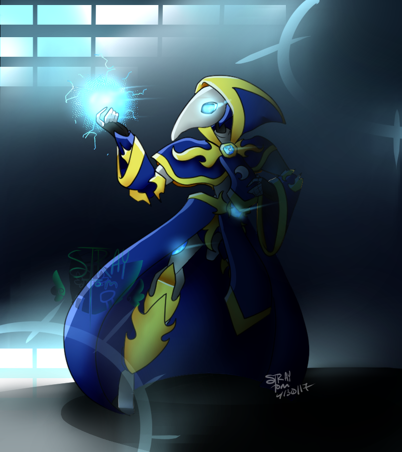 The Mage by RadioactiveRays