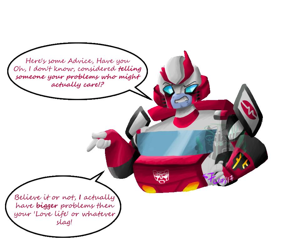 Sassy Old Robo by RadioactiveRays