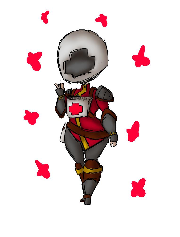 Smoll Knight by RadioactiveRays