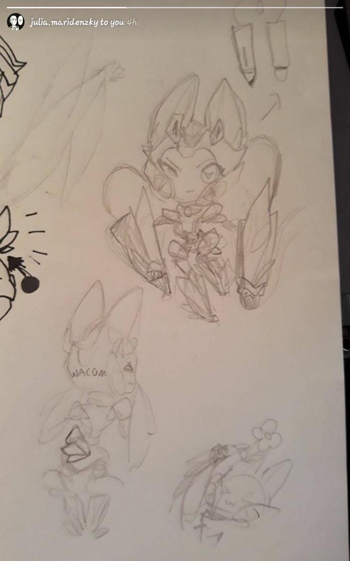 Wacom (sketches) by RadioactiveRays