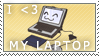 I heart my Laptop by StamPorMole