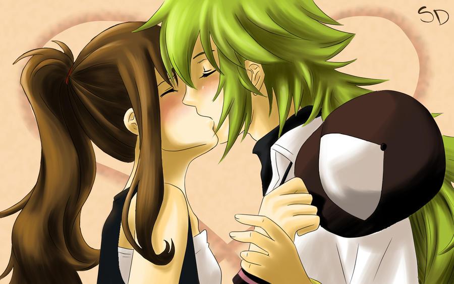 Sweet Kiss by silverdemon456