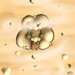 Whimsicott by silverdemon456