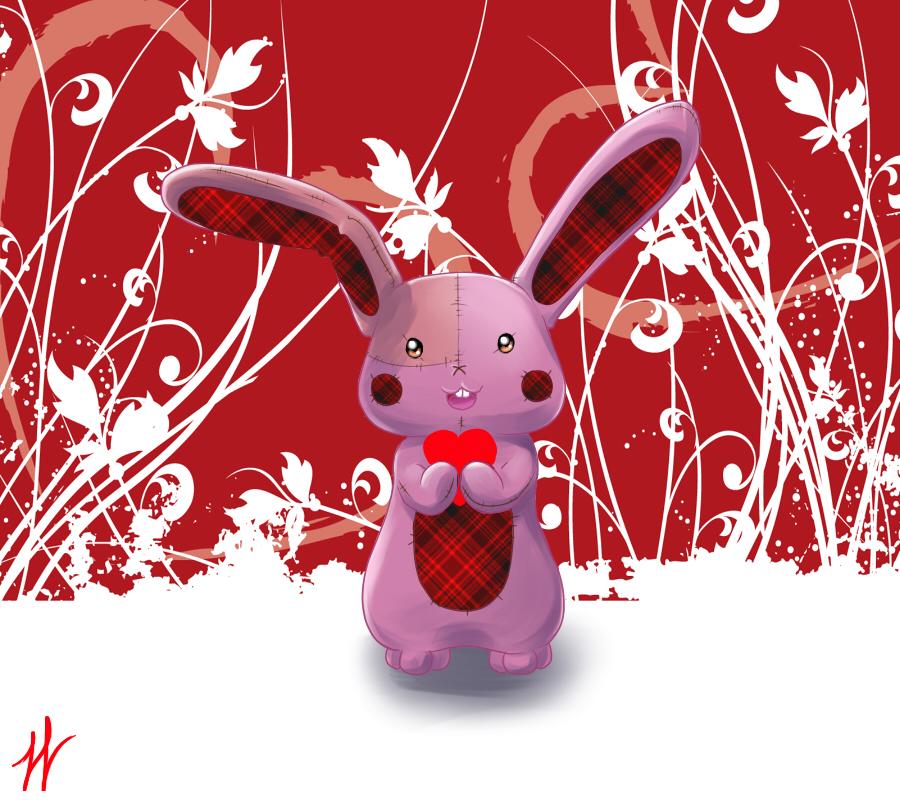 Love Bunny by silverdemon456