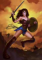 The wonder woman by HXH17