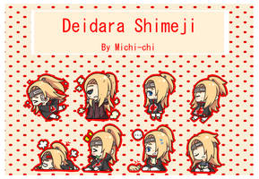 Deidara Shimeji by Michi-chi
