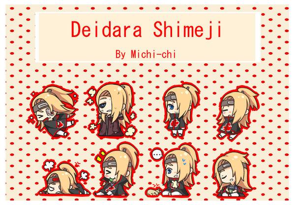 Deidara Shimeji
