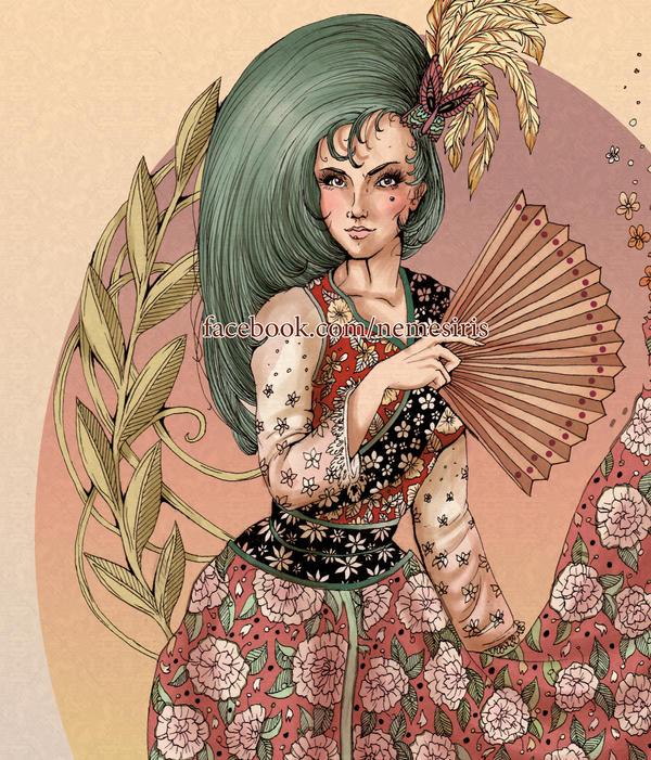Kimono by Saphiremist