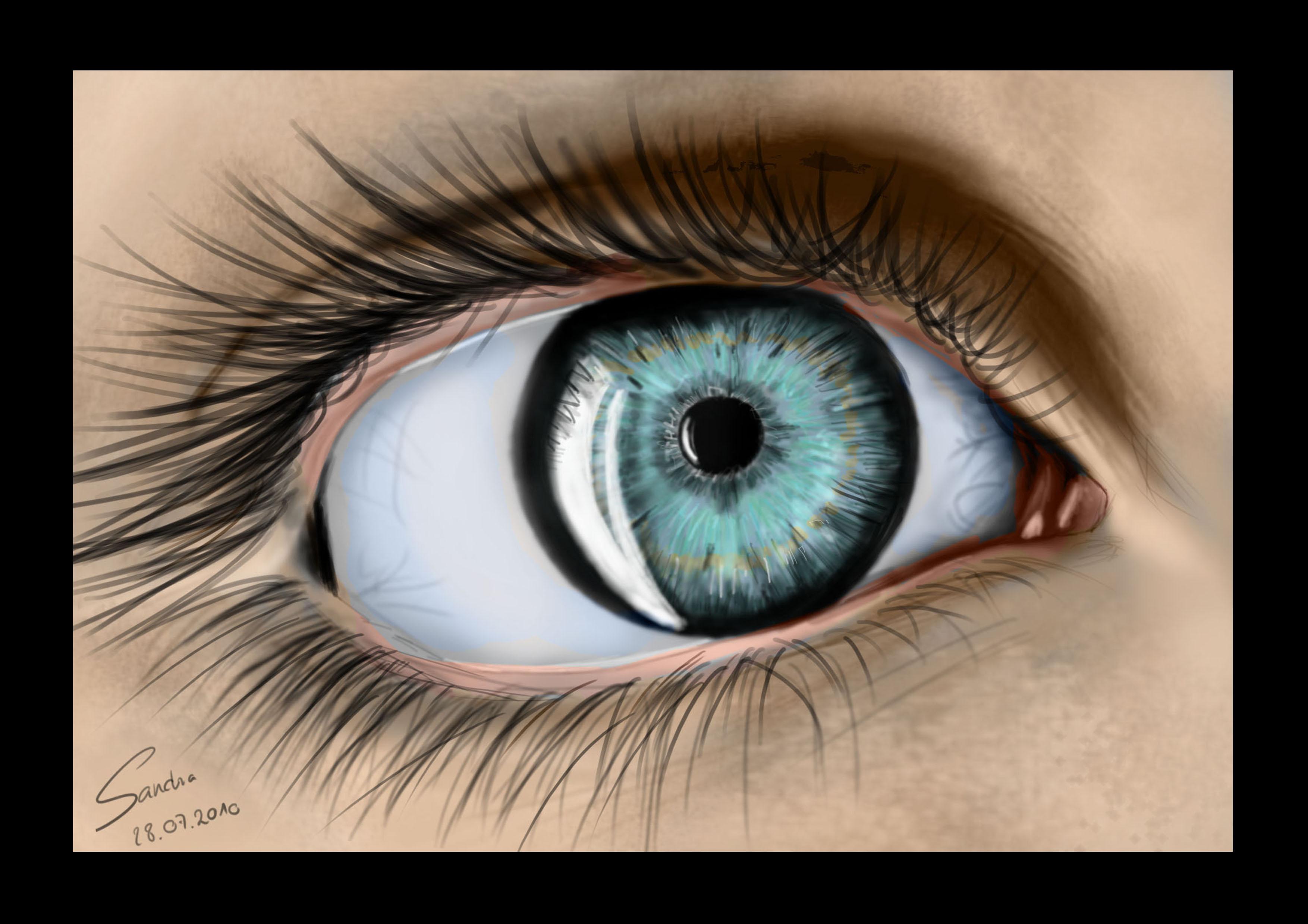 Eye in Color by Sajana25