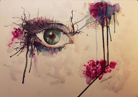 Aquarell Eye
