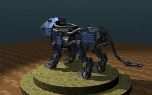 Shield Liger WIP 1b by LordOfDragons