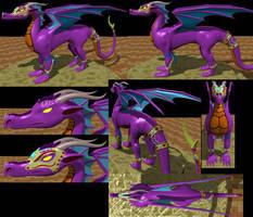MUGEN Dragoness 1 by LordOfDragons