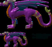 MUGEN Dragoness Test by LordOfDragons