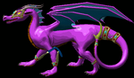 MUGEN Dragoness Idle 2 by LordOfDragons