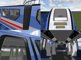 City Monorail System InGame by LordOfDragons