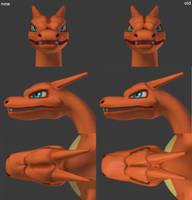 Charizard Head Rework by LordOfDragons