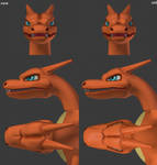 Charizard Head Rework