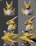 Renamon Head Rework