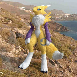 Renamon Cycles Fur2 by LordOfDragons