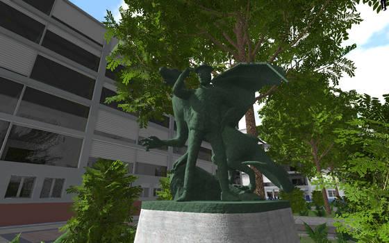 Security Park Statue