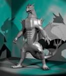 Odjin Battle Armor 3D WIP