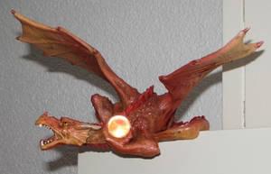 Glowing Shoulder Dragon by LordOfDragons