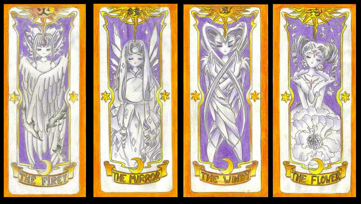 how to read clow cards