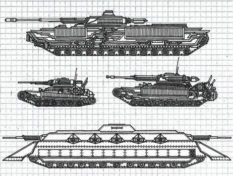 Tenebrae Imperium Tanks No.1 WIP