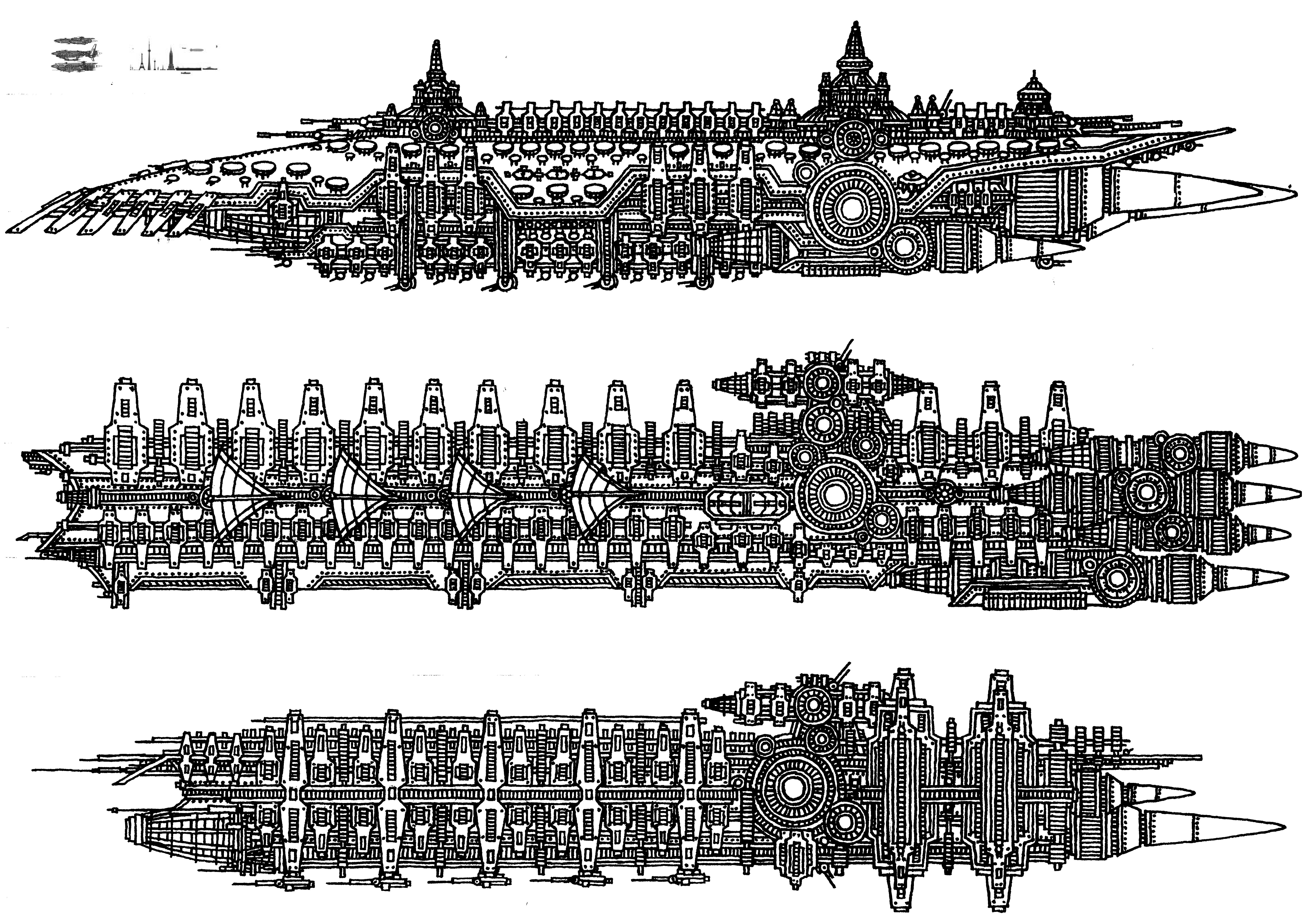 Tenebrae Imperium Military Space Craft No. 2 by TenebraesRising